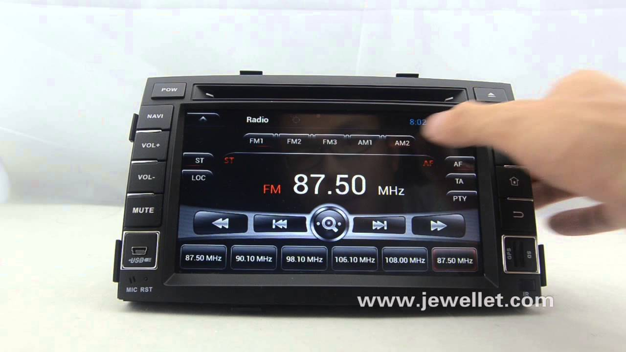 Android kia sorento 2010 2012 dvd gps navigation with for Kia motor finance physical payoff address
