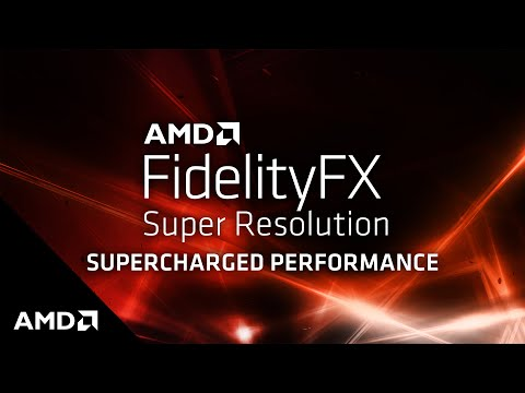 AMD FidelityFX Super Resolution: Supercharged Performance