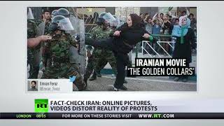 Fact-check Iran: Online pictures, videos distort reality of protests