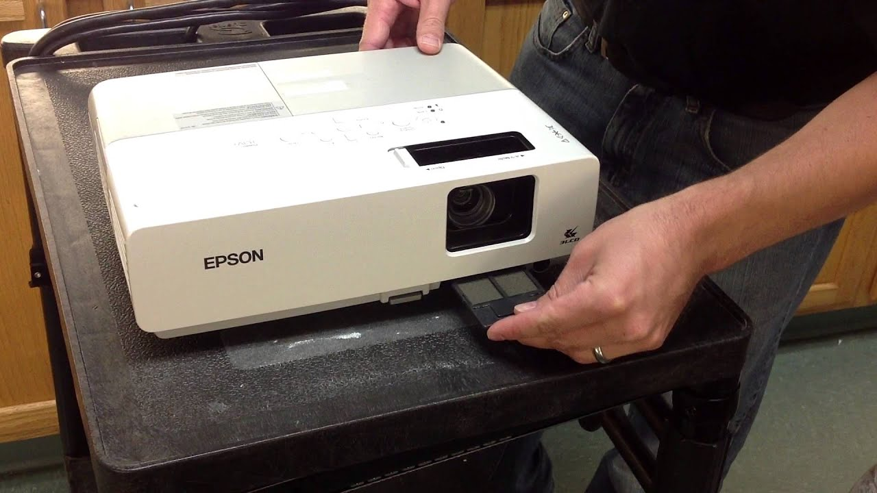 Epson Projector Filter Cleaning
