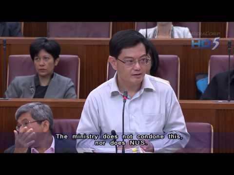 NUS Terminates Scholarship Of Sex Blogger Alvin Tan - 12Nov2012