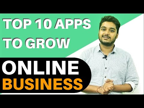 Top 10 Apps to Grow Your Online Business   Best Tools for Online Business in Social Media   2019