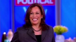 Sen. Kamala Harris On Fellow Democrats Alexandria Ocasio-Cortez And Rashida Tlaib | The View