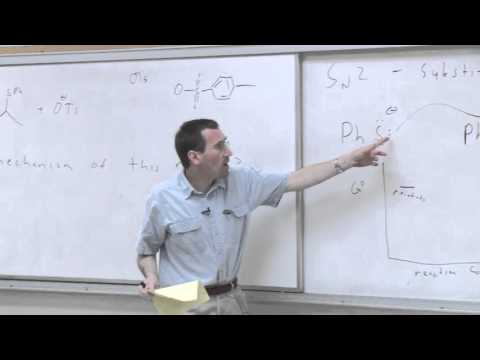 Chem 125. Advanced Organic Chemistry. 7. Organic Reaction Mechanisms.