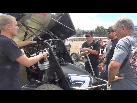 In the Pits 6-27-15 Calistoga Speedway - KWS - Calm before the Storm