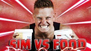 2KG DI YOGURT! | SIM VS FOOD [Speciale 10.000 Iscritti]