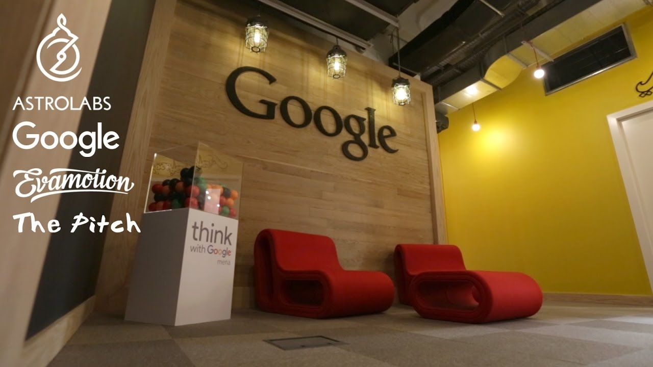 google office video. startup video pitch in dubai at google office n