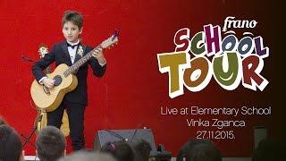 Frano's SchoolTour ES Vinka Zganca Zagreb 27.11.2015 | Live | 11yr old Frano