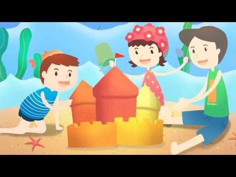 Sand Castles   Kids, Children's Song   Nursery rhymes   Детские песни на английском