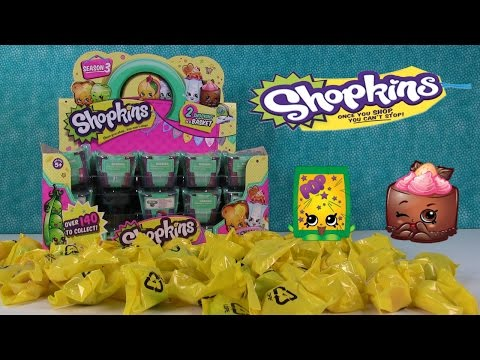 Shopkins Palooza Full Box Season 3 Opening Unboxing Toy Review| PSToyReviews