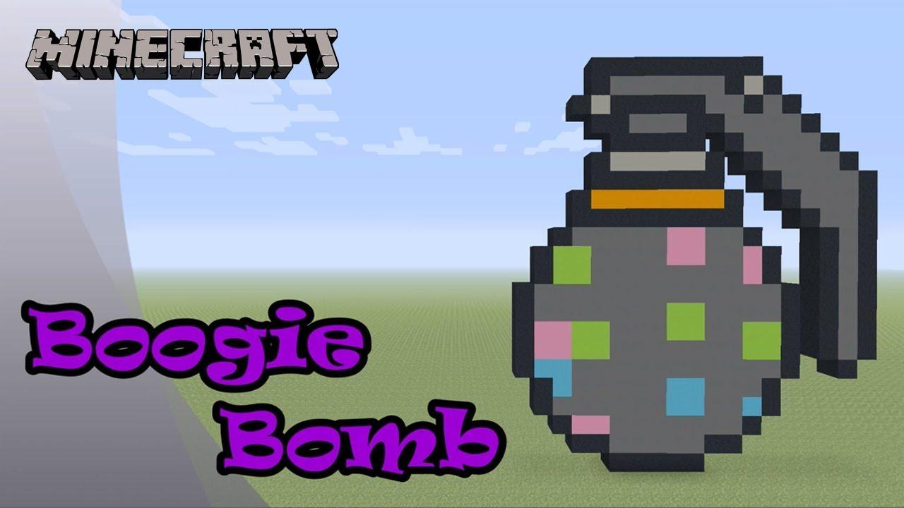 Minecraft Pixel Art Tutorial And Showcase Boogie Bomb Fortnite Battle Royale