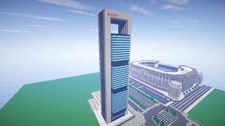 Torre Cepsa en Minecraft