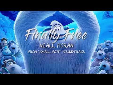 "Niall Horan - Finally Free (Lyrics) from ""Small Foot"" soundtrack"