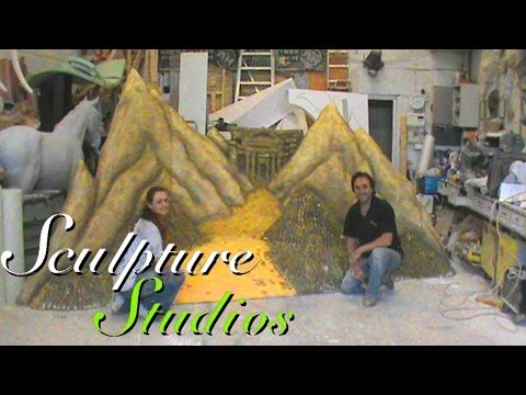 Treasure Cave Polystyrene / Styrofoam Set by Sculpture Studios