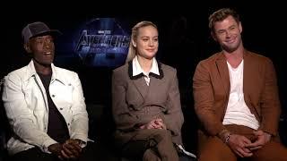 Avengers Endgame  w/ Brie Larson , Chris Hemsworth & Don Cheadle