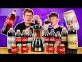 BROTHERS TRY EVERY FLAVOUR OF COCA COLA IN THE WORLD