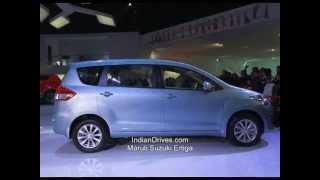 Maruti Suzuki Ertiga LUV Launch - Video Review
