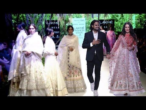 Shraddha Kapoor Walks Rahul Mishra | Fall/Winter 2017/18 | Lakme Fashion Week