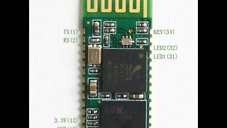 Переходник  Bluetooth HC05 RF, своими руками!  А также учимся делать платы!