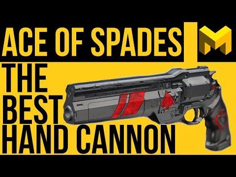 Ace Of Spades Exotic Review: Destiny 2 Forsaken's Best Hand Cannon