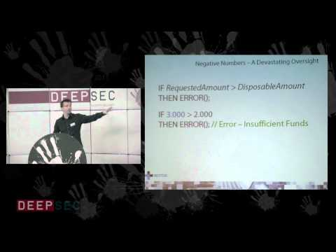 DeepSec 2011: How To Rob An Online Bank And Get Away With It