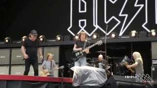 AC/DC - Dirty Deeds Done Dirt Cheap (Sound check, Sydney 2015)