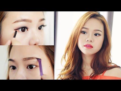 Pop Of Color Makeup Look   Maybelline One Brand Tutorial   Molita Lin