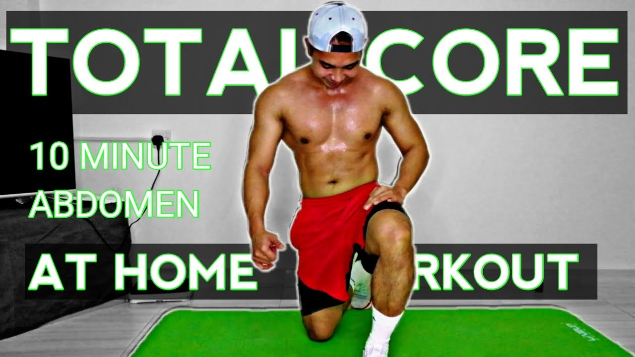 TOTAL CORE 10 MINUTE ABS WORKOUT | AT HOME WORKOUT | NO EQUIPMENT