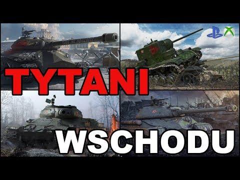 Tytani Wschodu IS-6,KV-5 vs IS-5,Object 252U Defender World of Tanks Xbox One/Ps4