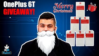 OnePlus 6T Giveaway : Six Phones : Merry Christmas