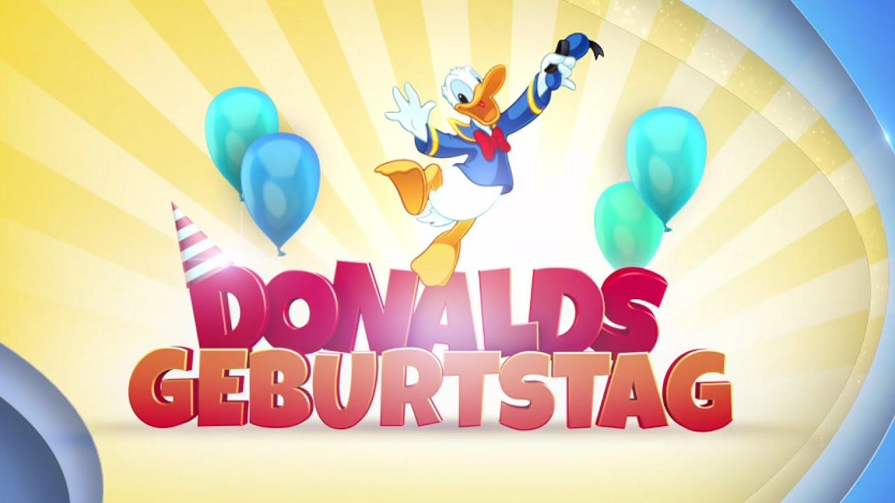 Happy Birthday Donald Duck Feiert Donalds Geburtstag Im Disney