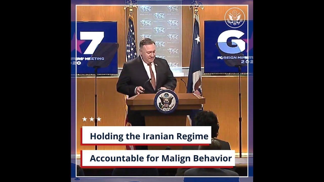 Holding the Iranian Regime Accountable for Malign Behavior #Regime
