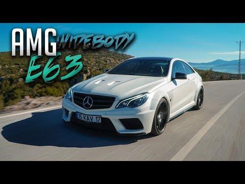 Mercedes E63 AMG Coupe Test Sürüşü / Eşi benzeri olmayan 1000 Tork ile Gazladık