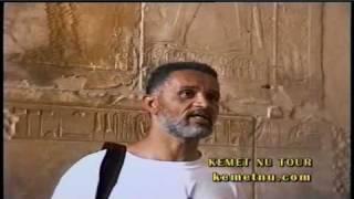 ashra kwesi lecturing on the books in stone at ipet isut karnak temple