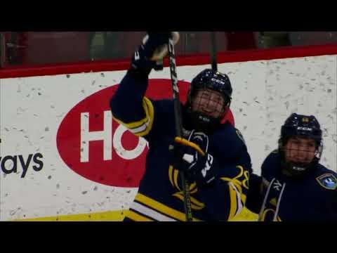Recap: Harvard Women's Ice Hockey vs.Quinnipiac - Dec. 1, 2017