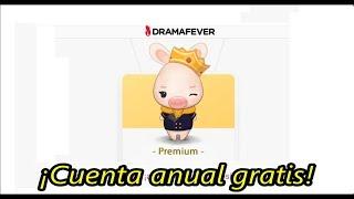 Cuenta Premium Dramafever Anual ¡GRATIS! [Septiembre 2018]