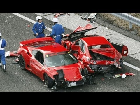 Funny car crashes and road traffic accidents - YouTube