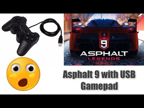 how-to-play-asphalt-9-legends-with-usb-controller-|-gamepad