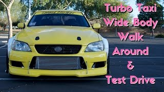 Turbo Taxi Update: Wide Body Walk Around & Short Test Drive