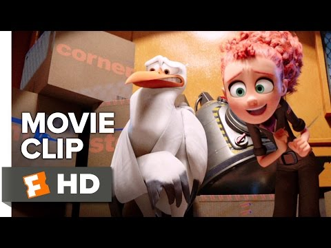 Storks Movie CLIP - Did You Catch the Game Last Night? (2016) - Andy Samberg Movie