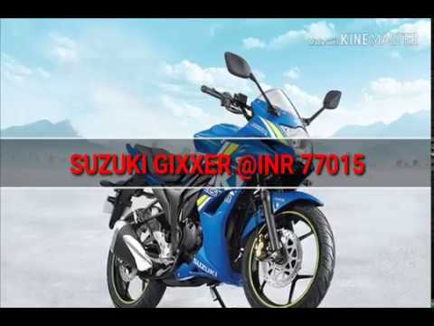 TOP TEN SPORTS BIKES IN INDIA UNDER ONE LAKH