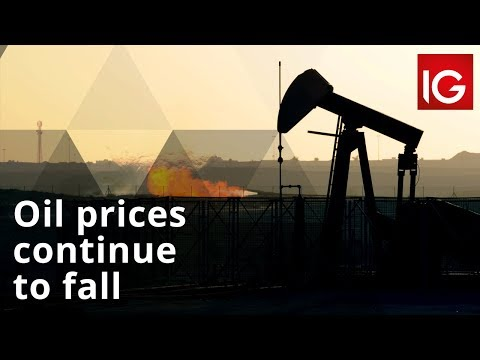 Why crude oil prices are falling today