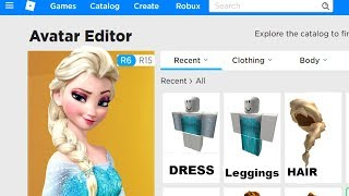 MAKING FROZEN 2 A ROBLOX ACCOUNT!