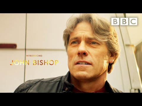 Welcome to the TARDIS… ✨ Introducing John Bishop as 'Dan' 💙 💙 @Doctor Who - BBC