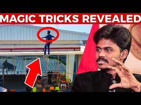 160 Feet Flying Man's MAGIC Trick Revealed! | Magician Vigne