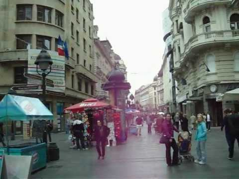 Belgrade city center