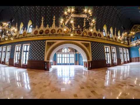 Palatul Culturii Iași - Timelapse de interior 4K