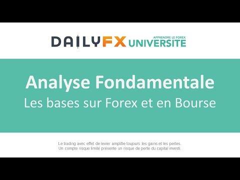 Les bases de l'analyse fondamentale sur le Forex et en Bourse
