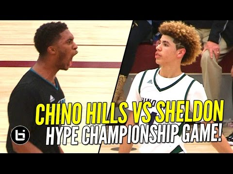 Download Ball Brothers vs Duplechan Brothers! Chino Hills vs Sheldon HYPE Championship Game! Full Highlights!