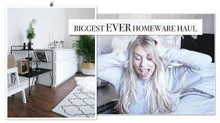 BIGGEST EVER HOMEWARE HAUL | IKEA HOMESENSE TKMAXX & MORE | Freya Farrington